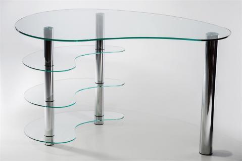 glastisch chrom g nstig sicher kaufen bei yatego. Black Bedroom Furniture Sets. Home Design Ideas