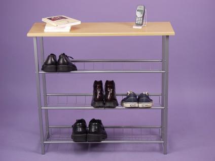 schuhregal aus metall online bestellen bei yatego. Black Bedroom Furniture Sets. Home Design Ideas