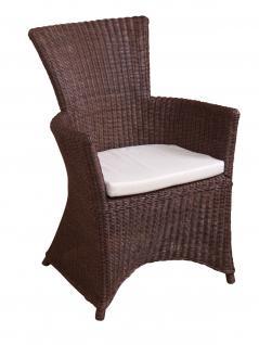 rattansessel braun inkl kissen rattanrohr sessel rattanstuhl rattan stuhl neu kaufen bei go. Black Bedroom Furniture Sets. Home Design Ideas