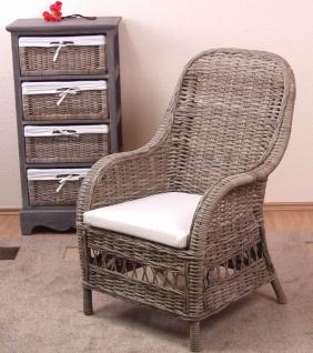 rattan sessel grau g nstig online kaufen bei yatego. Black Bedroom Furniture Sets. Home Design Ideas
