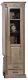 vitrine schrank holz online bestellen bei yatego. Black Bedroom Furniture Sets. Home Design Ideas