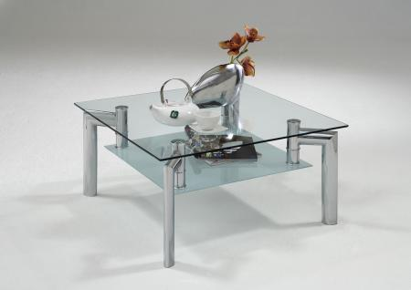 Couchtisch glas chrom online bestellen bei yatego for Wohnzimmertisch glas metall