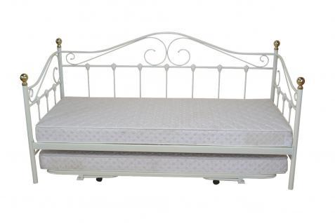 tagesbett metall g nstig sicher kaufen bei yatego. Black Bedroom Furniture Sets. Home Design Ideas
