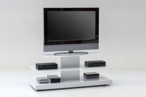 wei hochglanz videowagen rollbar rollen glas laufrollen tv tisch. Black Bedroom Furniture Sets. Home Design Ideas