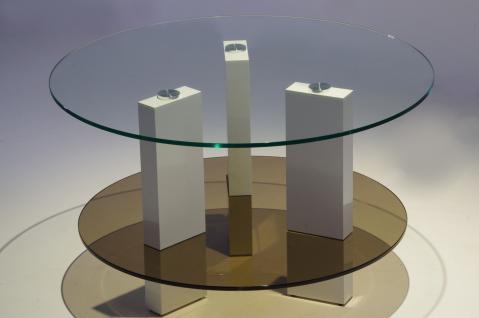 Fernsehtisch glas design g nstig kaufen bei yatego for Moderner design couchtisch pull sonoma eiche hochglanz weiss 120 cm