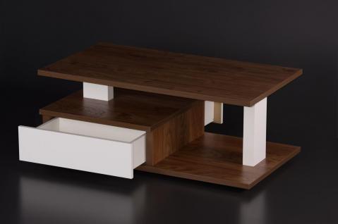 Couchtisch Wohnzimmer Schubkasten edler Sofatisch design modern hochwertig neu