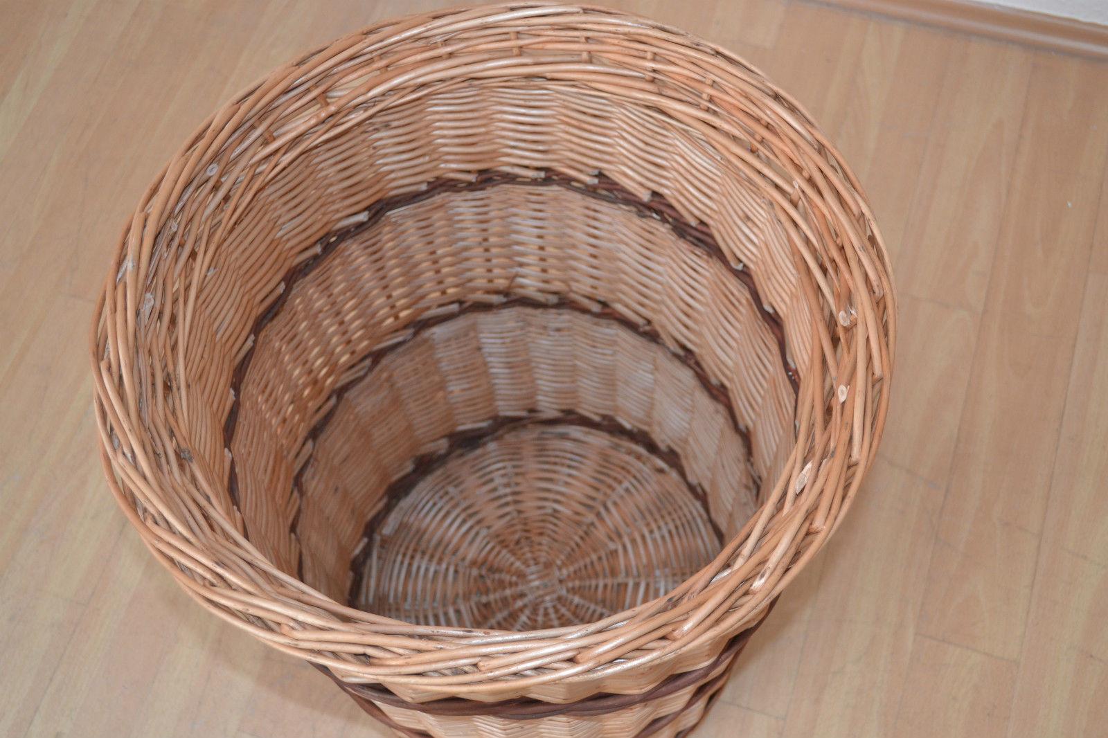 Wäschesammler natur mit Deckel Wäschetruhe Wäschekorb Wäschebox Wäschesack Weide Kaufen bei go  ~ 02051540_Wäschekorb Weide Eckig Mit Deckel