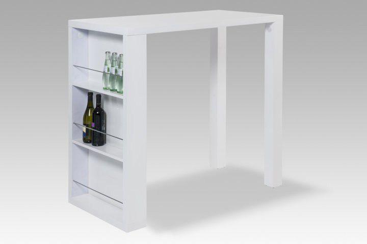 k chentheke bartisch hochglanz wei stehtisch esstisch. Black Bedroom Furniture Sets. Home Design Ideas