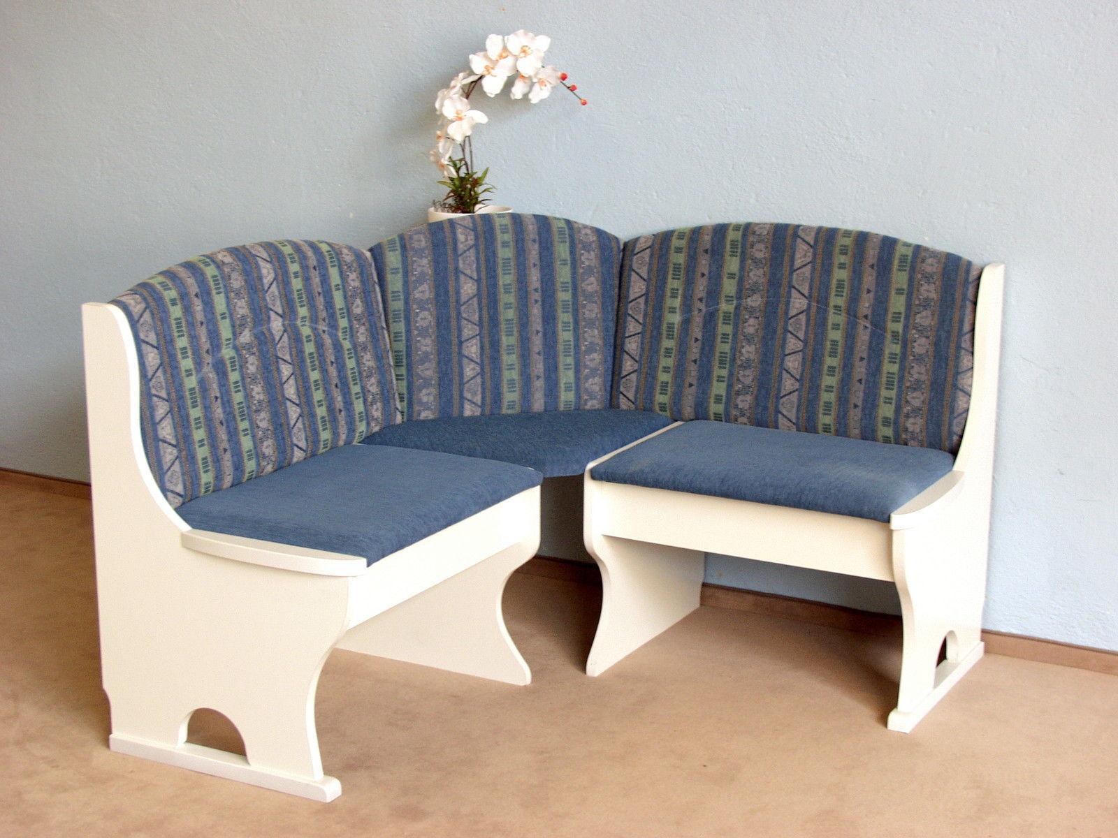 Eckbankgruppe weiß plaume eckbank truheneckbank tisch stühle ...