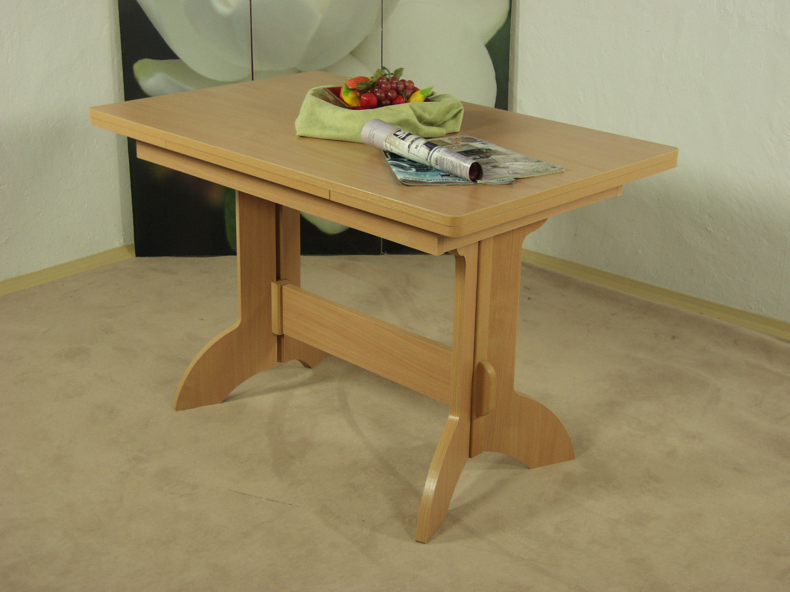 Auszugtisch buche massivholz esstisch esszimmertisch tisch for Esszimmertisch buche