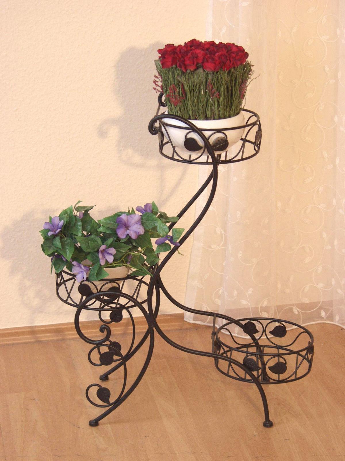 blumenst nder blumen st nder pflanzenschale pflanzenst nder schwarz wei weiss kaufen bei go. Black Bedroom Furniture Sets. Home Design Ideas