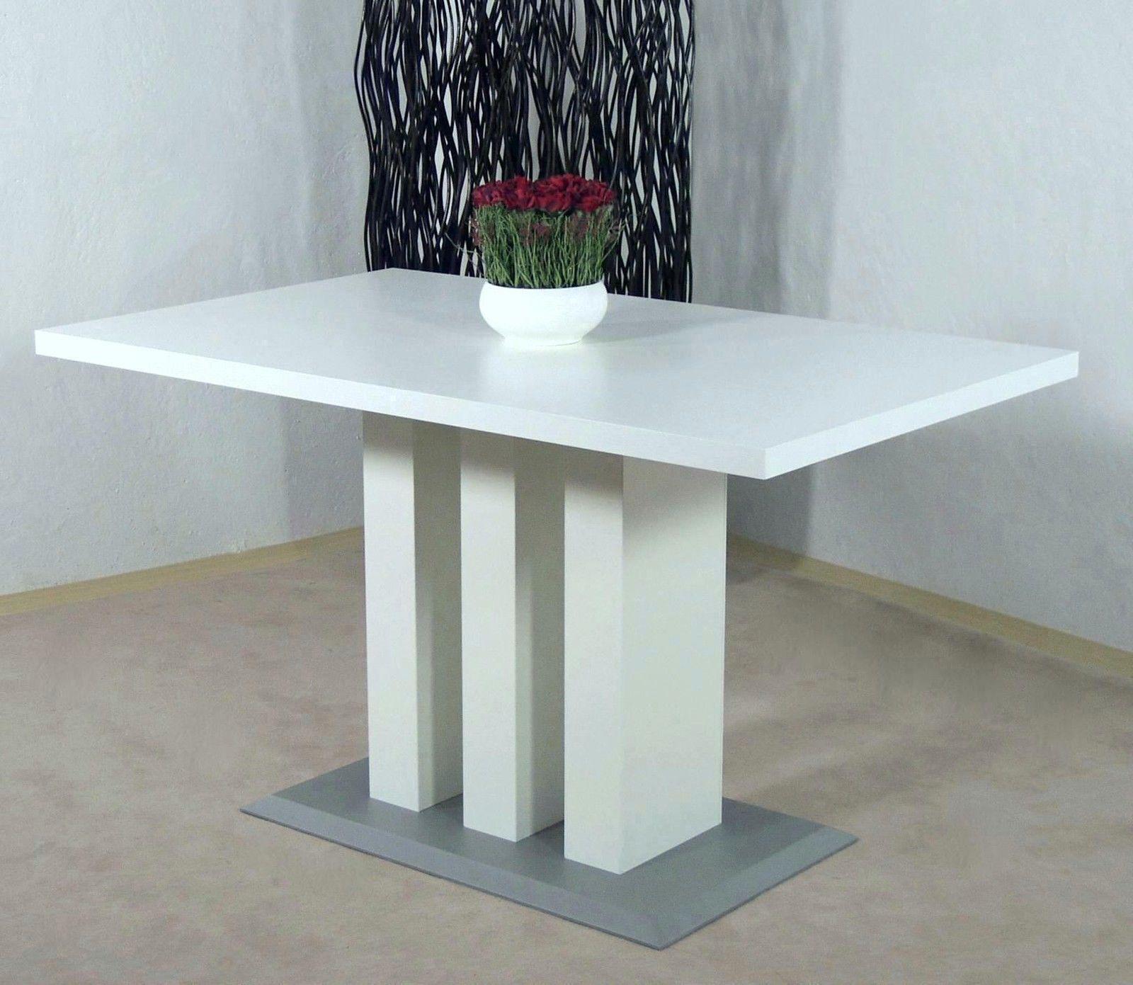 s ulentisch wei melamin esstisch esszimmertisch tisch k chentisch esszimmer kaufen bei go perfect. Black Bedroom Furniture Sets. Home Design Ideas