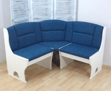 eckbankgruppe wei blau. Black Bedroom Furniture Sets. Home Design Ideas