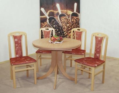 tisch rund buche g nstig sicher kaufen bei yatego. Black Bedroom Furniture Sets. Home Design Ideas