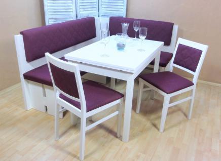 eckbankgruppe wei g nstig online kaufen bei yatego. Black Bedroom Furniture Sets. Home Design Ideas