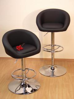barhocker hocker k chenhocker k chenstuhl drehbar kunstleder schwarz weiss kaufen bei go perfect. Black Bedroom Furniture Sets. Home Design Ideas