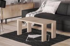 edler Couchtisch Sonoma 110 cm moderner Sofatisch design Wohnzimmertisch günstig