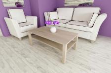 Couchtisch Sonoma Eiche Wohnzimmer edler Sofatisch Ablage modern design günstig