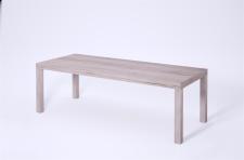 moderner Couchtisch San Remo hell ausziehbar 100-160 cm Sofatisch design günstig