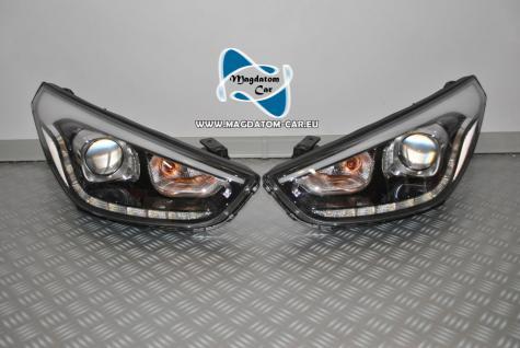 2x Neu Original Scheinwerfer LED Links & Rechts Komplette Hyundai IX35 - Vorschau 1