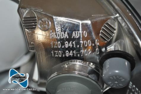 2x Neu Original Nebelscheinwerfer Skoda Octavia 2 Facelift ab 2009- 1Z0941699C 1Z0941700C - Vorschau 5