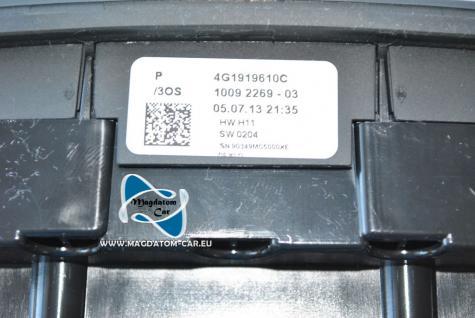 Neu Original Bedieneinheit Bedienteil Navi MMI Multimedia Multimediasystem Touchpad Audi A6 4G A7 4G1919610C 4G1919610D - Vorschau 4