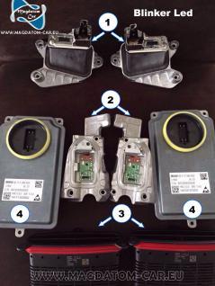 2x Neu Original Blinker Links & Rechts Fur Bmw 5 F10 F11 Voll Full Led Scheinwerfer - Vorschau 5