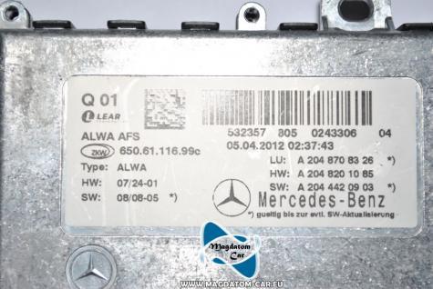 Neu Original AFS Modul Kurvenlicht Steuergerät A2048708326 fur Mercedes - Benz GLK - Vorschau 3