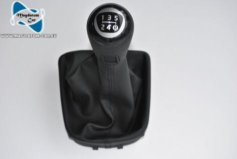 Neu Original Schaltknauf Leder 5 - Gang gear knob Vw UP 1S 1S0711113J