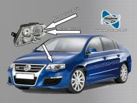 Neu Original Xenon Bixenon Brenner Birne fur Vw Passat 3C 2006-2010 & CC Touareg 2003-2009