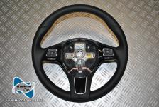 Neu Original Lenkrad Leder Schwarz Multifunktion fur Vw Touareg 7P 2011-2013 7P6419091