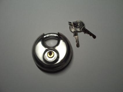 Vorhangschloss mit 2 Schlüsseln, Anzahl der Einheiten 1 - Vorschau 2