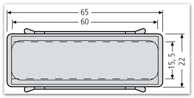 renz namensschild 65 x 22mm m feder f briefkastenklappe 97. Black Bedroom Furniture Sets. Home Design Ideas