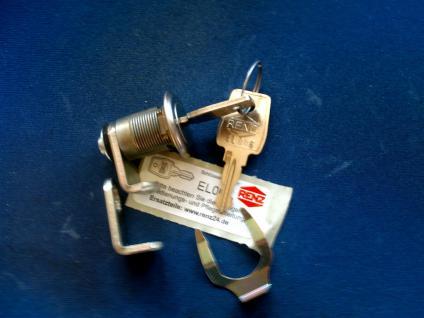 Briefkastenschloss Renz 448/EL mit 2 Riegeln, Metall, Silber