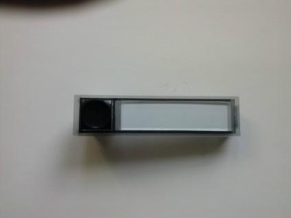 Klingeltaster Seko 90x22 mit integr. Namenschild