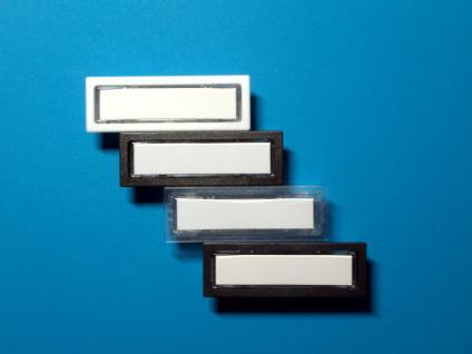 Klingeltaster Lira passend für Renz 85-116, JU 21-111, DAD weiß, braun, schw.glaskl