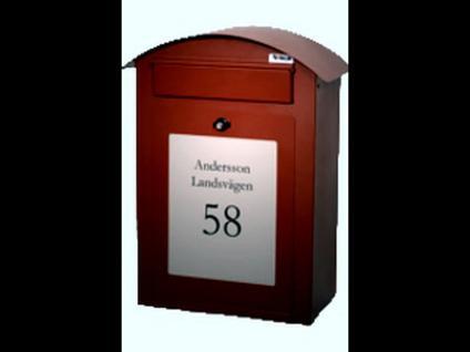 Briefkasten Flexbox Brilliant, Metall, Wandbriefkasten