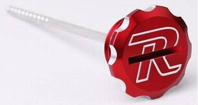 Billet Engine Oil Dip Stick Honda CRF250R/X ?04-?09Extremely light weight design is a great