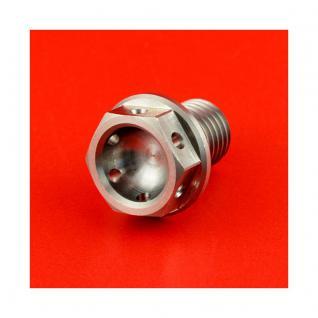 Racebolt Oelablassschraube M12 x 1.5 15 mm magnetisch Edelstahl