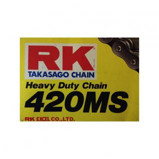 RK Kette 420 MS 108 Glieder offen mit Clipschloss
