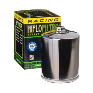 Hi Flo Oilfilter Harley Davidson Motorcycle, Buell chrome OEM 63796-77 63805-80A 63805-80T 63806-83