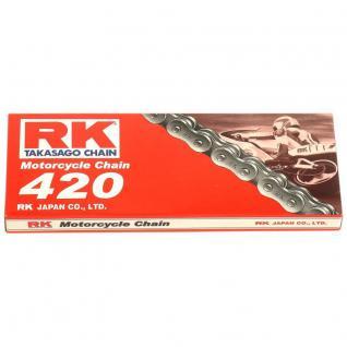 RK Kette 420 124 Glieder offen mit Clipschloss