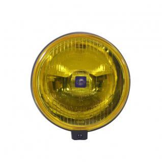 1F4005750-051 HELLA Comet 500 Fernscheinwerfer H3 gelb + Abdeckung