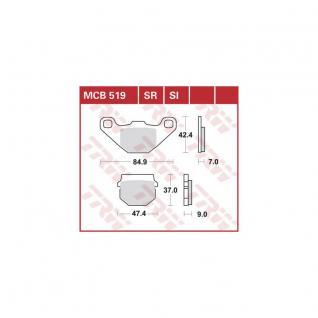 MCB519 Bremsbelag Aeon Aprilia CPI Hyosung Italjet TGB Kawasaki Suzuki