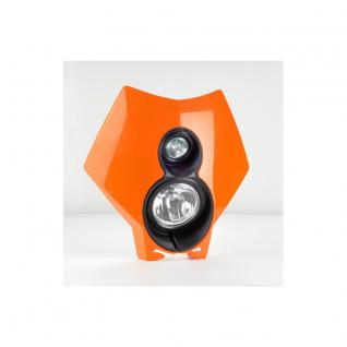 TrailTech X2 Kit: Dual Sport Halogen - Orange - KTM