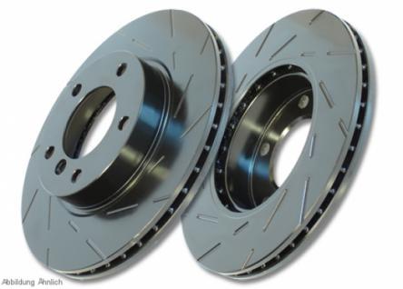 USR572 EBC Black Dash Bremsscheibe vorne für DACIA Sandero 1.6 (ABS) 2008-2012