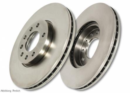 D572 EBC Premium Disc Bremsscheibe vorne für DACIA Sandero 1.6 (ABS) 2008-2012