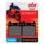 Bremsbelag SBS 509HF Street Ceramic