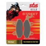 Bremsbelag SBS 611LS Streetexcel Sintermetall