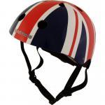 Kiddimoto Helm Union Jack Größe M - 53-58 cm, geprüft nach EC EN1078